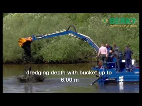 BERKY Multipurpose Amphibious Dredger and Suction Dredger type 6760