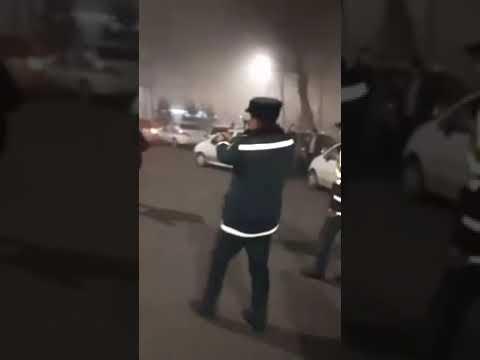 В Ташкенте сотрудник ДПС применил оружие против рецидивиста, размахивавшего ножом