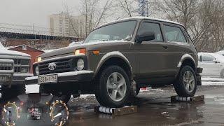 Как гребет Lada 4x4 - Нива 2020? Застрял, дергай ручник!