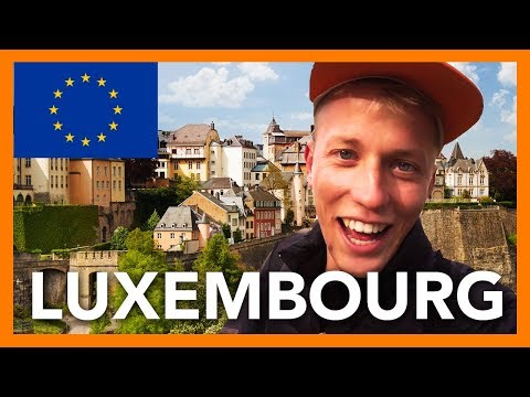EXPLORING LUXEMBOURG CITY VIA TRAIN!