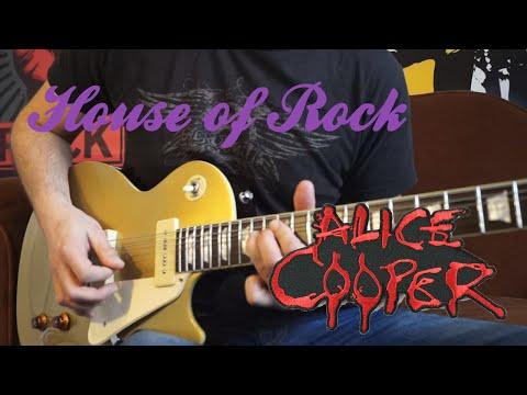 I'm Eighteen - Alice Cooper Full Guitar Cover | House of Rock