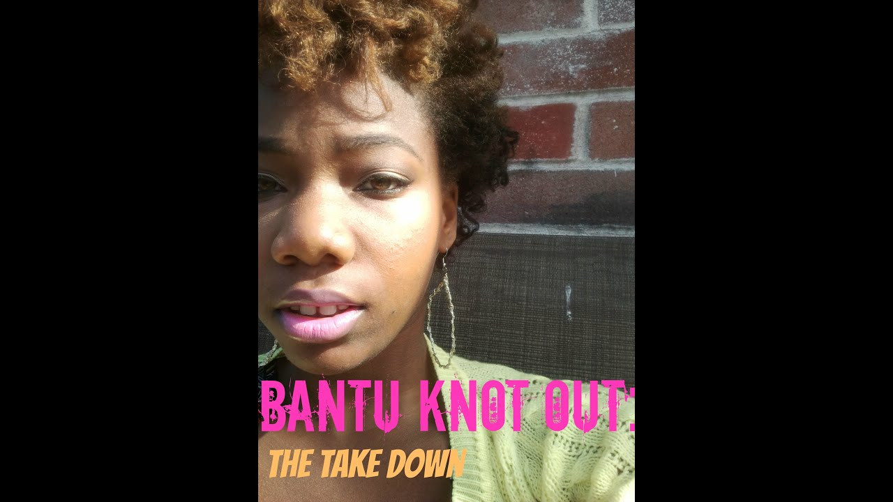 Bantu Knot Out On Med/Short Hair: The Take