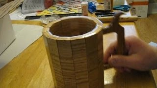 Usable Wood Beer Mug