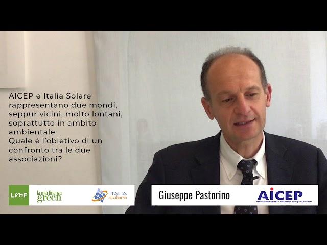 Italia Solare 2019 - Fotovoltaico e consumatori a confronto  - Giuseppe Pastorino (AICEP)