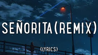 Gambar cover Shawn Mendes, Camila Cabello – Señorita (vlt remix/Lyrics)