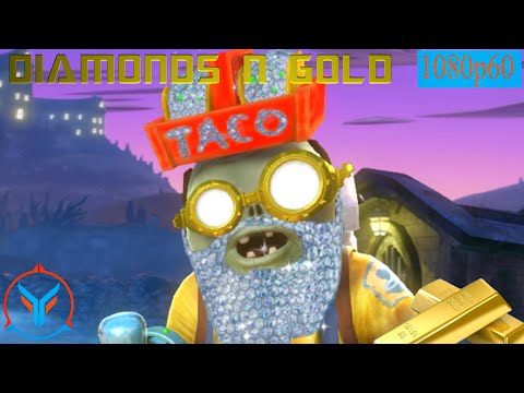 Plants Vs Zombies Garden Warfare Diamonds And Gold - Plumber