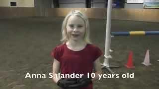 Jumping like a horse, Anna Salander