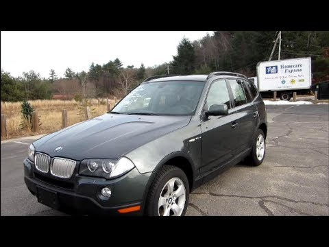 2007 BMW X3 3.0i Start Up, Engine & In Depth Tour - YouTube