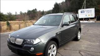 2007 BMW X3 3.0i Start Up, Engine & In Depth Tour