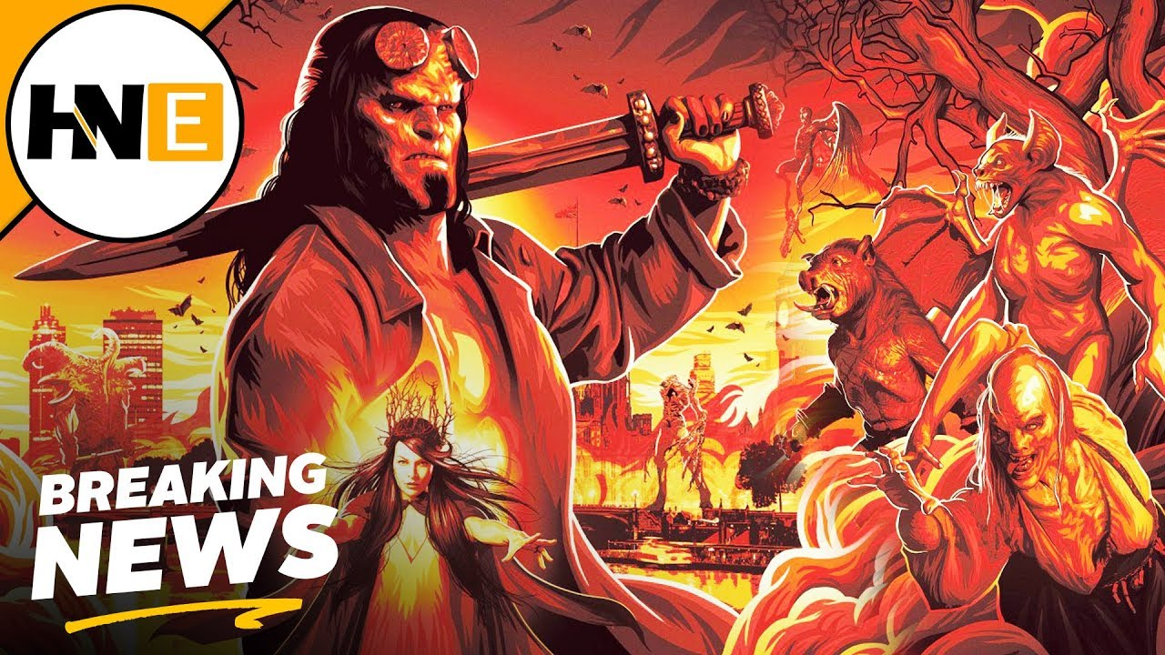 Movie Poster 2019: Hellboy 2019 First Look Blood Queen, Monsters, & More