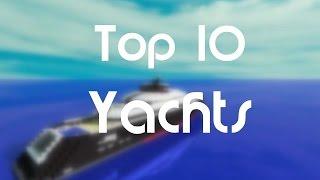Minecraft / Top 10 des plus beaux yachts #2