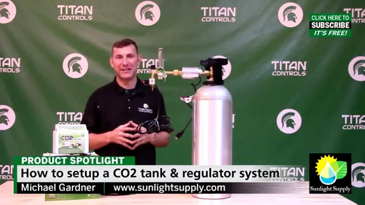 room setup diagram rv 50 amp service how to a titan controls co2 tank & regulator system - youtube
