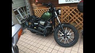 荒川静香愛車 PRUNUサウンド 2014 YAMAHA・XVS950CU BOLT 2014 ヤマハ・...