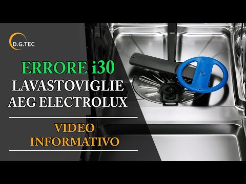 Lavastoviglie Rex Electrolux Aeg allarme 30 - Parte 1 - diretta Live ...
