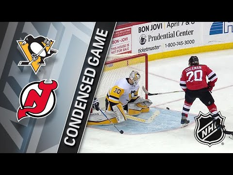 03/29/18 Condensed Game: Penguins @ Devils