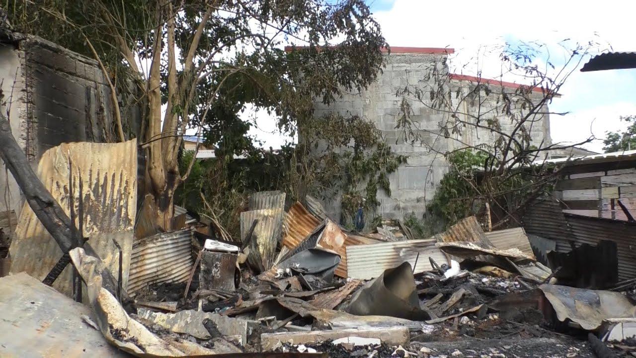 Incendie : deux maisons brûlées aux Abymes.