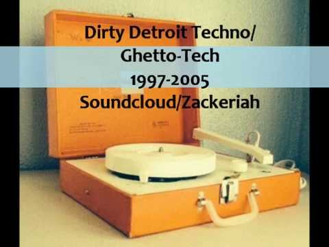 Dirty Detroit techno/ghetto-tech classics