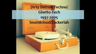 Dirty Detroit techno/ghetto-tech classics