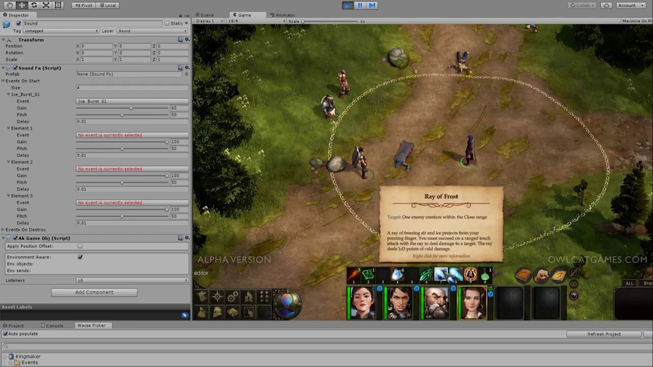 Pathfinder: Kingmaker by Owlcat Games » Your Neighbors in
