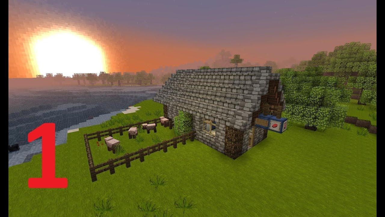 Minecraft Tutorial Mittelalter Schlachter Teil 1 2 Youtube
