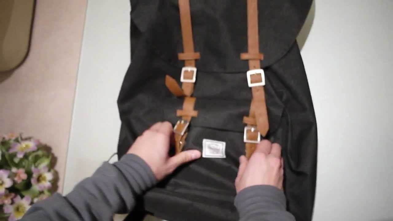 c25d3e70b4a Herschel Little America Backpack Review - YouTube