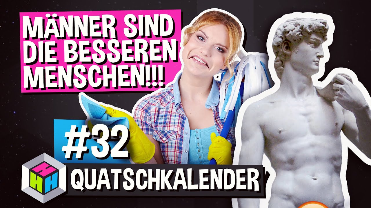 m nner sind besser als frauen weltm nnertag quatschkalender 32 fun facts youtube. Black Bedroom Furniture Sets. Home Design Ideas