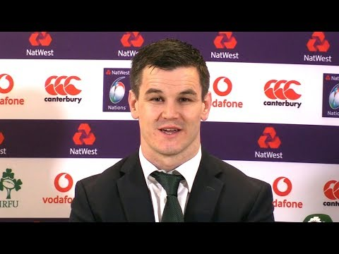 Joe Schmidt & Jonathan Sexton Press Conference After Ireland Become 2018 Six Nations Champions
