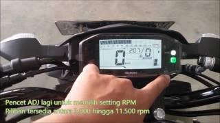 Cara Setting Shift Light di Suzuki GSX-R150 dan GSX-S150
