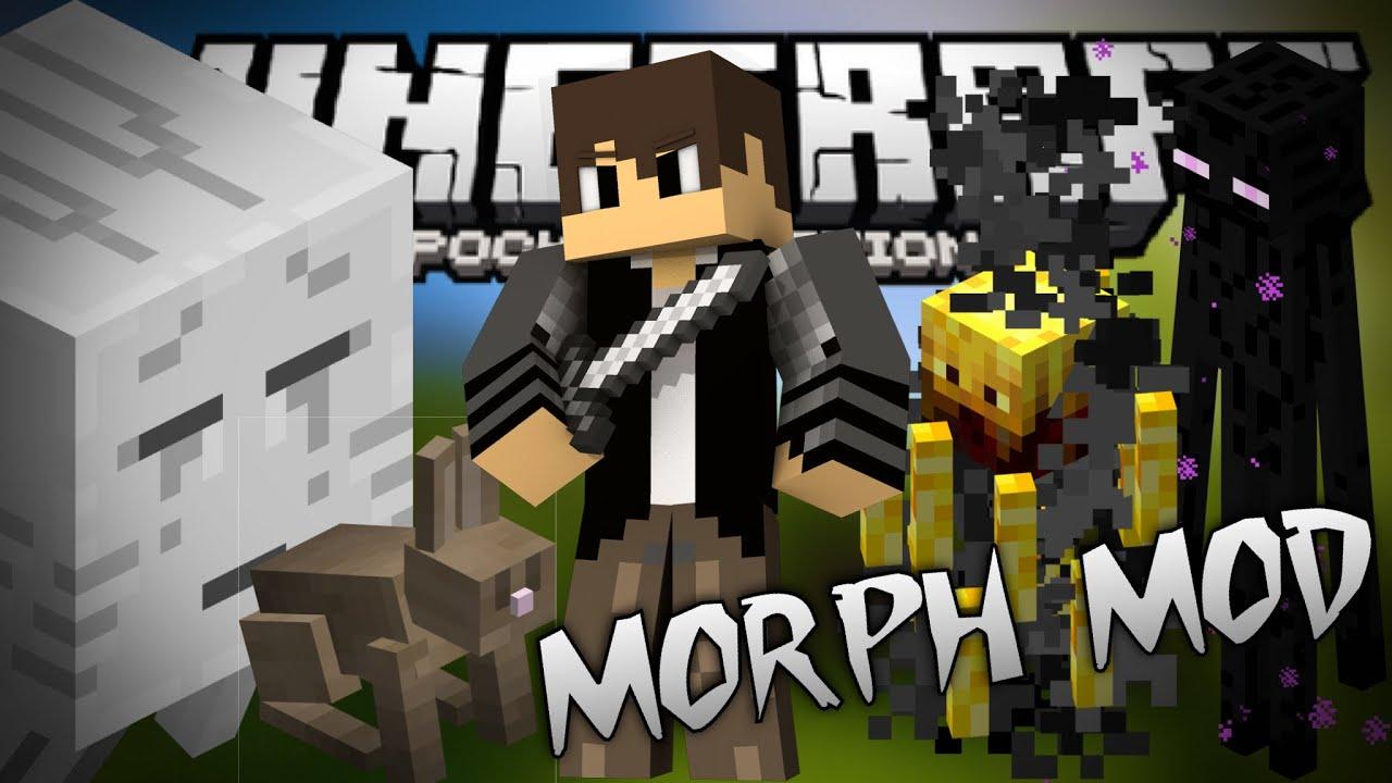 morph mod for minecraft windows 10 edition