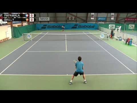 PAPAMALAMIS (FRA) vs BAILLY (BEL) - Open Super 12 Auray Tennis - Court 3