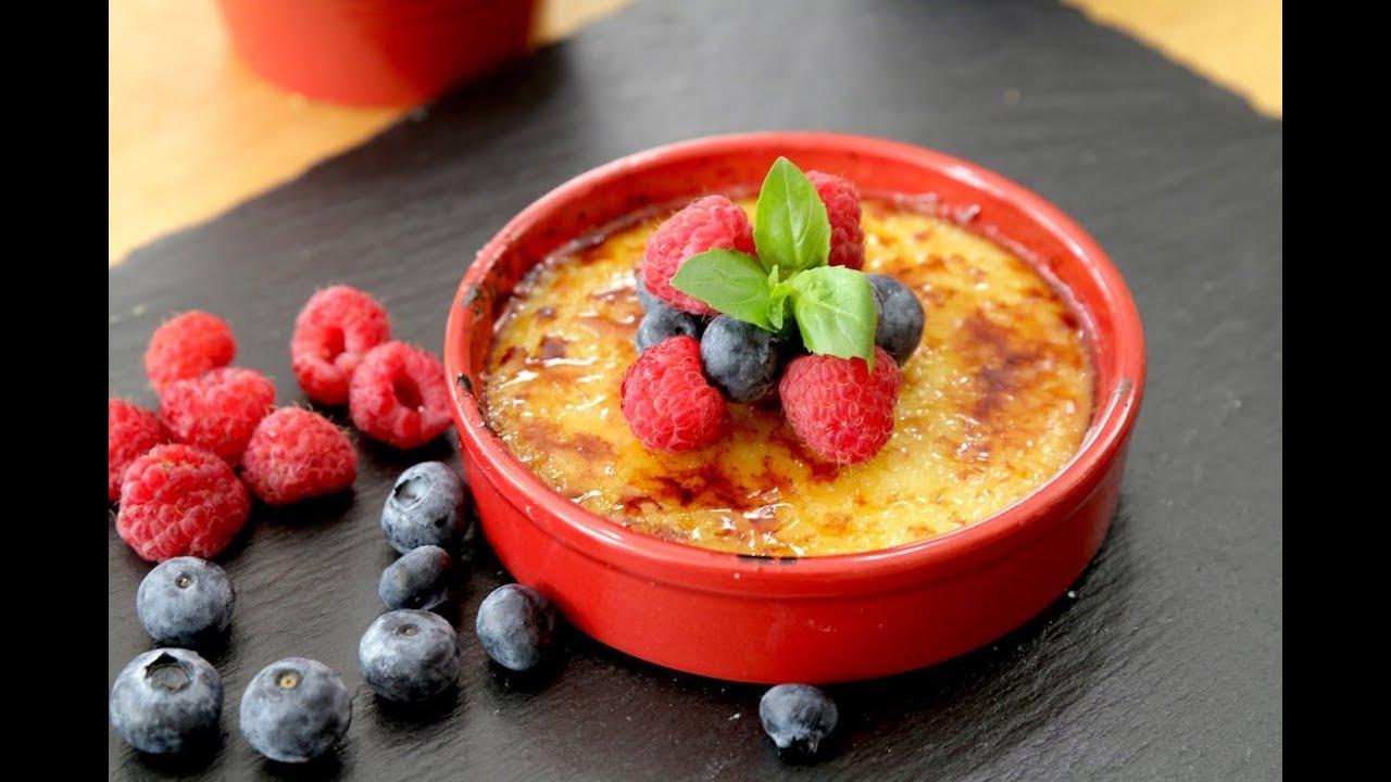 Vegan Crème Brûlée I The Buddhist Chef