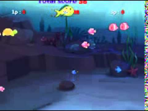 Fish eat fish 3 players game play on youtube for Fish eat fish game