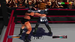 WWF WrestleMania 2000 Tori vs Chyna RAW IS WAR for Woman title Championship