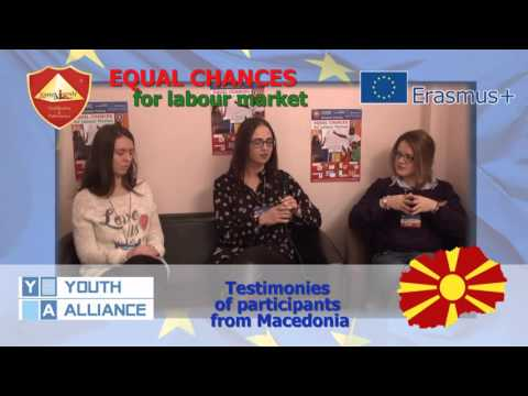 Equal chances for labour market - Macedonia
