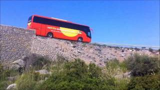 Driving on the mountains of Mallorca