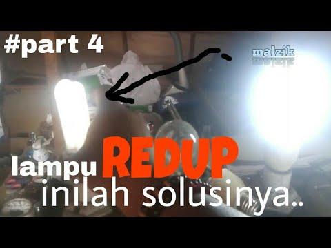 Cara Mudah Memperbaiki Lampu Philip Yang Redup Part 4 Youtube