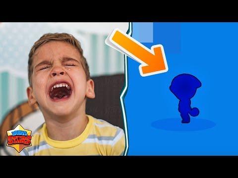 Kid Starts Crying After Unlocking Legendary In Brawlstars! Funny Box Opening Reactions Brawlstars