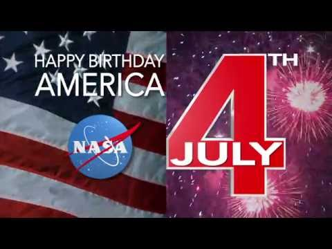 Happy 4th of July, from NASA