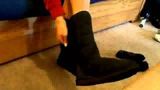 Dangling Ugg Boots