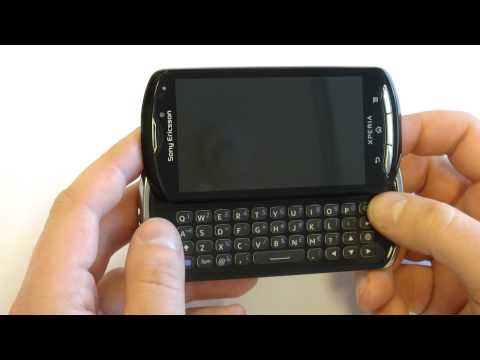 Sony Ericsson Xperia Pro review (rus)