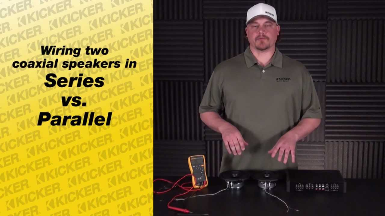 Speaker Wiring: Wiring Coaxial Speakers - YouTube