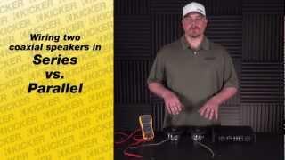 Speaker Wiring: Wiring Coaxial Speakers