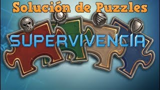 "Hearthstone - Solución de puzzles ""Supervivencia"""