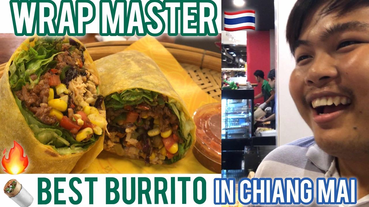 The Wrap Master Burrito Story ? Chiang Mai Food Truck to Franchise in 1-yr! Talk w/ the Founder