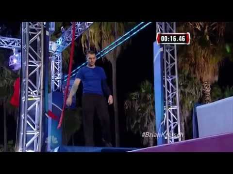 Brian Kretsch and Shannon Silver at 2015 Venice Qualifiers | American Ninja Warrior