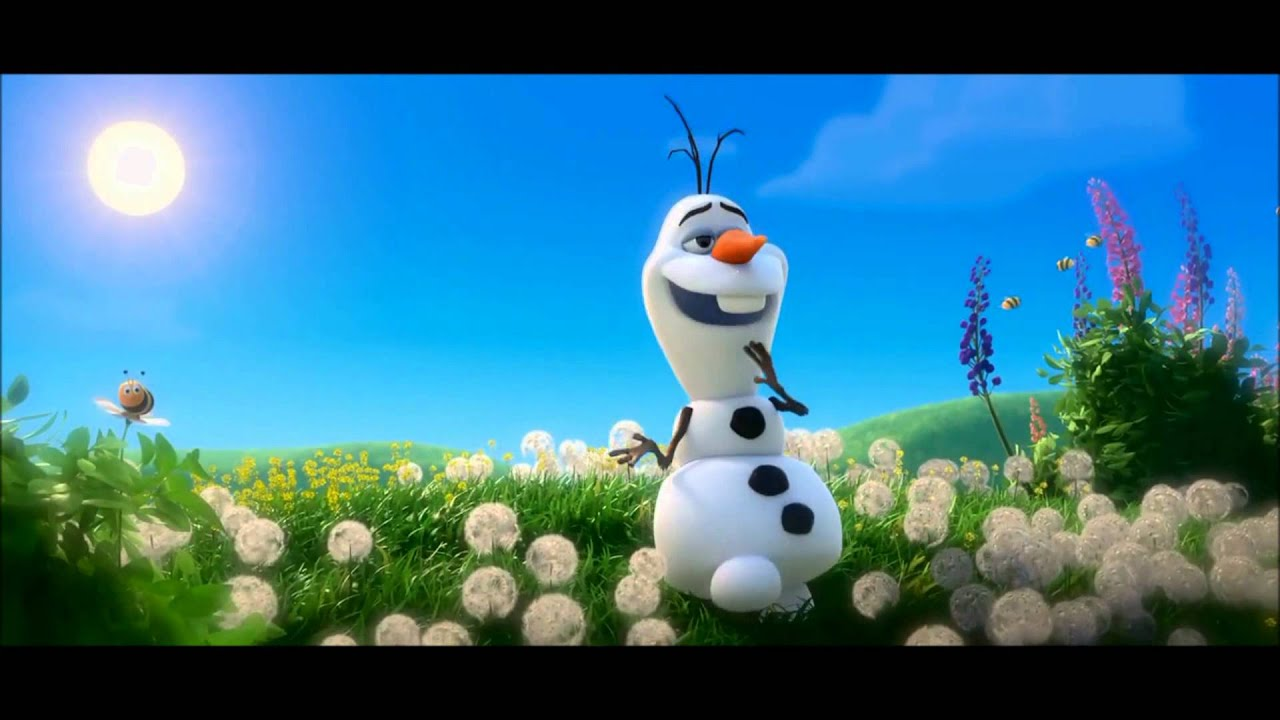 meet olaf song about summer