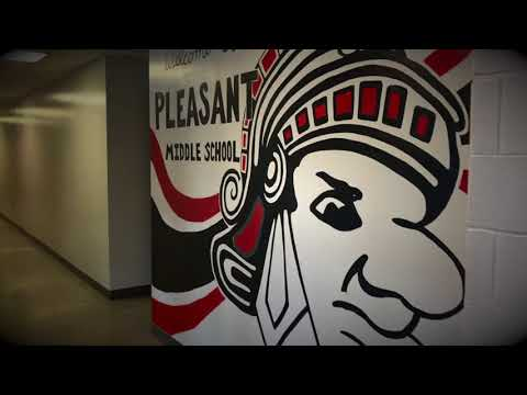 "Pleasant Middle School ""Push Yourself"" Test Motivation Video"