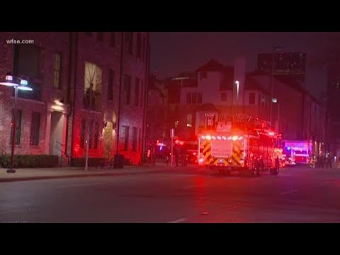 Video: 'Unknown malfunction' causes explosion in downtown Dallas