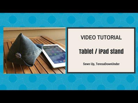 iPad stand tutorial