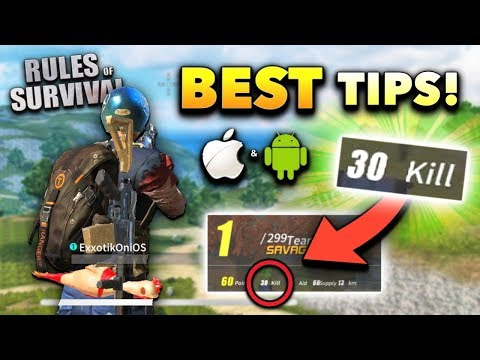 Rules of Survival BEST Tips for Mobile Players!! (How to Play on iOS/Android)